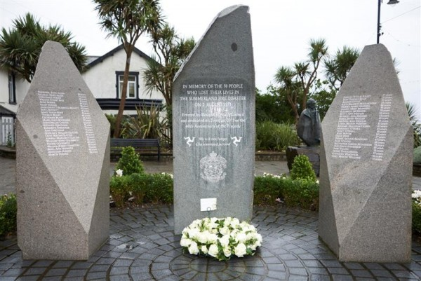 Council marks 41st anniversary of Summerland disaster