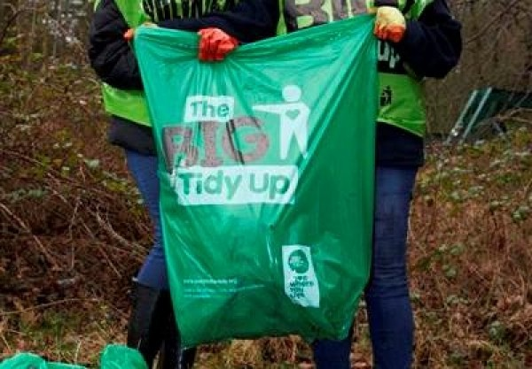 Big Tidy Up to take place Saturday October 3