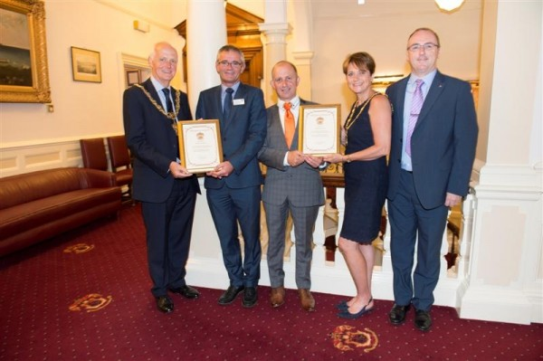 Council employees' long service recognised
