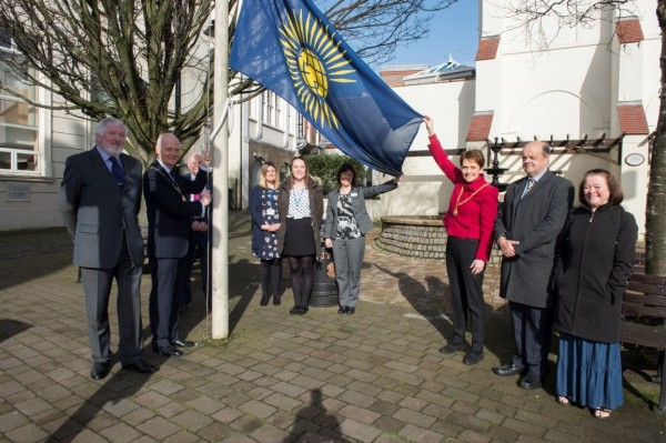 Douglas supports Fly a Flag for the Commonwealth 2017