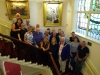 Visitors from Northern Ireland welcomed to the Town Hall