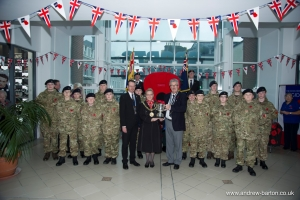 Mayor launches 2017 Royal British Legion Poppy Appeal