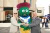 Mayor welcomes Commonwealth Games baton