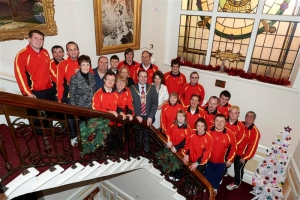 Civic reception for Special Olympics Isle of Man