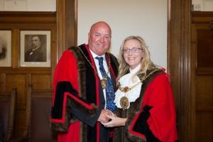 Councillor Debbie Pitts elected Mayor of Douglas