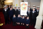 Sea cadets meet the Mayor and Mayoress