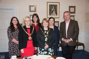Crossroads Care meets the Mayor