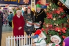 Family festive fundraising in the Strand Centre