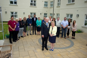 Mayor attends Salisbury Street Nursing Home's 1st anniversary celebrations