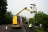 Council passes half-way stage in street lighting lantern conversion scheme