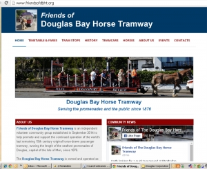 Council welcomes new tramway website