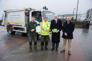 Winning ways with waste: Council wins Quality Improvement Award for intelligent litter bins