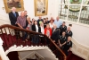 TT racing team and guests welcomed to the parlour