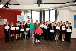 Bemahague pupils clean up in poster competition