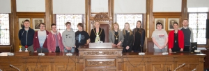 Mayor hosts UCM's student council
