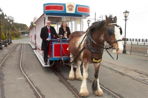 Mayor launches 2013 horse tram service