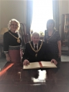 Mayor and Mayoress meet Lord Mayor of Liverpool