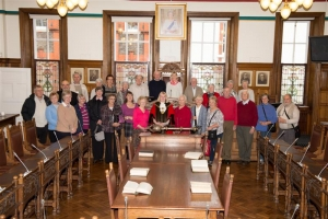 Town hall tour for Manx Retirement Association