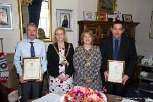 Mayor recognises employees' long service