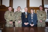 Mayoral welcome extended to officers of 103rd Royal Artillery
