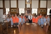 St Thomas's RC School sing for the Mayor