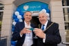 Mayor toasts Barclays' Eagle Lab opening