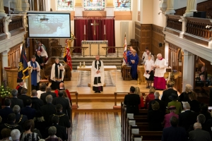 Towards 'a more caring society' theme of Archdeacon's Civic Sunday address