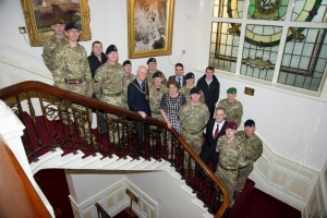 Reception for Isle of Man Army Reserve Force