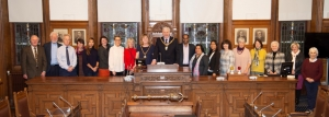 Welcome extended to Mayor's chaplain and parish members
