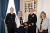 Civic welcome for HMS Ramsey commanding officer