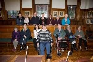 Reception for Hazel Court residents