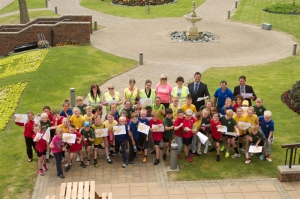 Way to go: Pupils check out new direction for Noble's Park