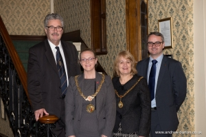 Tour of Tynwald for the Mayor and Mayoress