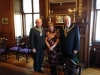 Lord Lieutenant of Edinburgh welcomes Mayor and Mayoress