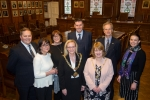 Mayor hosts reception for Isle of Man Newspapers